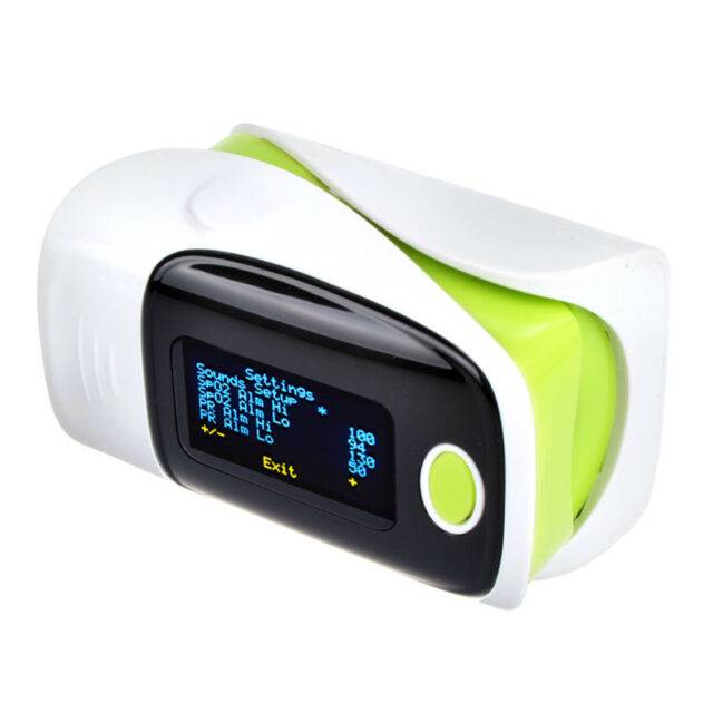 Digital Portable Finger Health Monitors