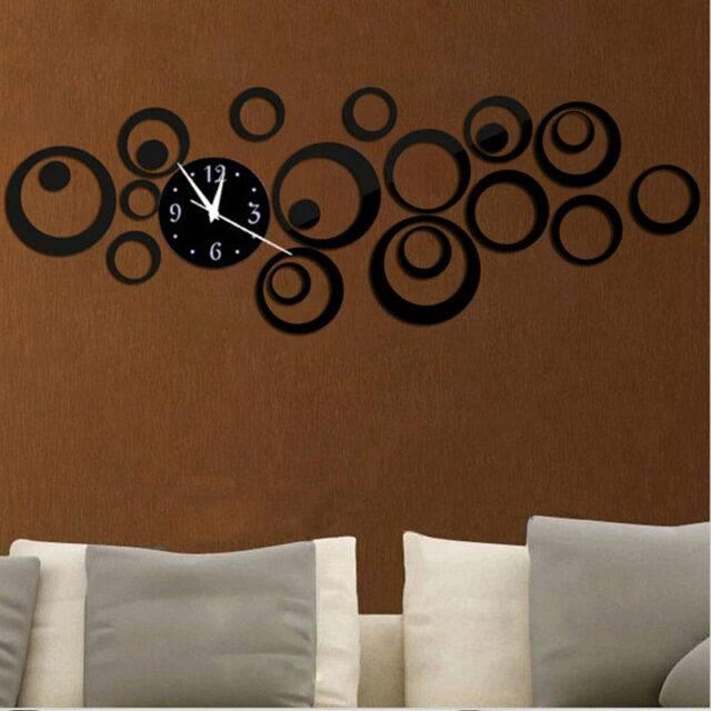 Quartz Large Decorative Acrylic Wall Clock
