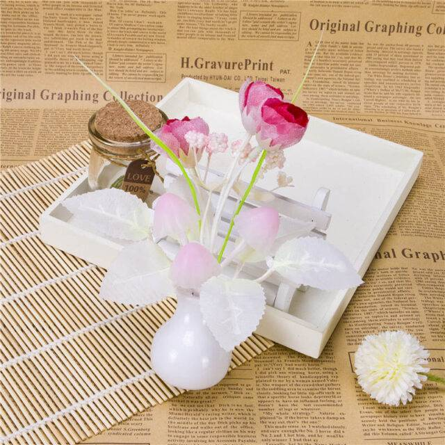 Decorative Cute Floral Night Lamp
