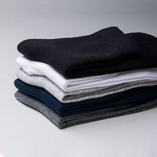 5 Pairs Cotton Business Casual Socks