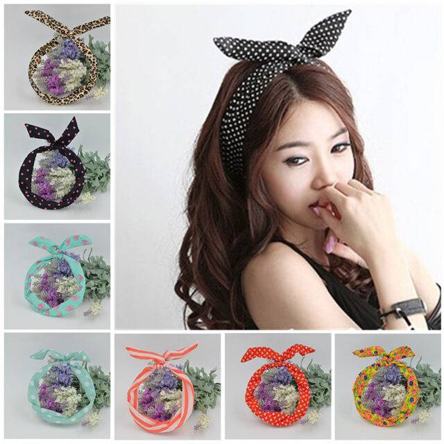 Polka Dot Hairband for Women