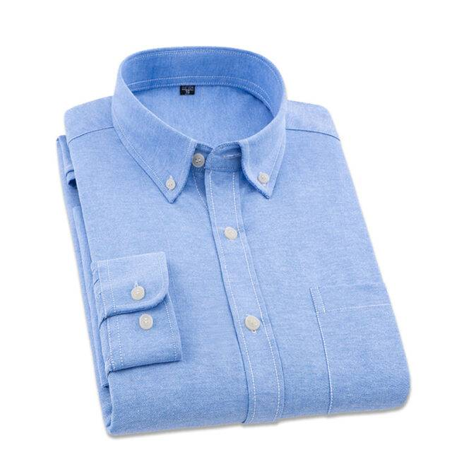 Men's Solid Spring Formal Shirts