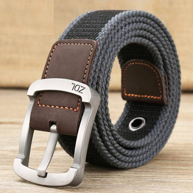 Men's Military Alloy Belt