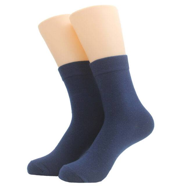 5 Pairs Men's Cotton Summer Short Socks