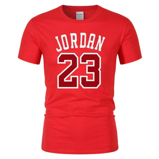 Men's 23 Number Printed T-Shirt