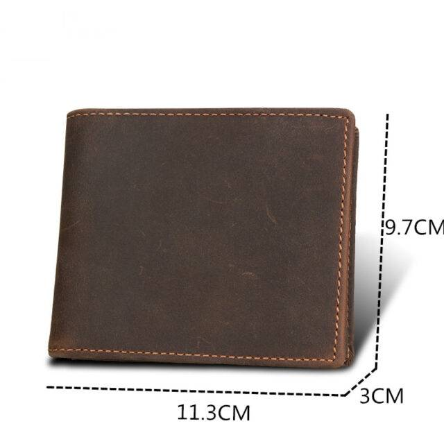 Men's Compact Genuine Leather URB Wallet