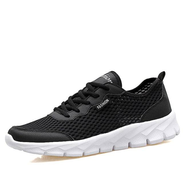 URbestow Air Mesh Summer Casual Shoes For Mens