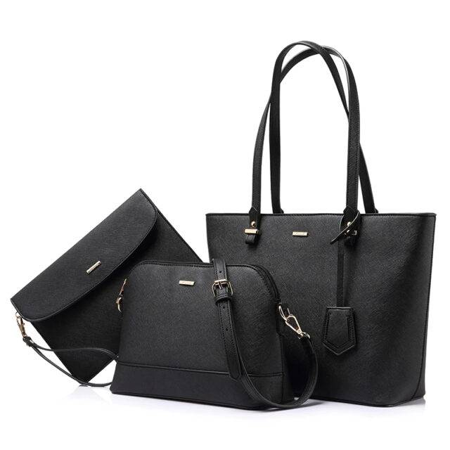 3 Piece Handbag Set Fashionable Matching Women's Bags