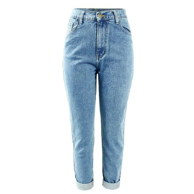 Women's High Waist Mom Jeans