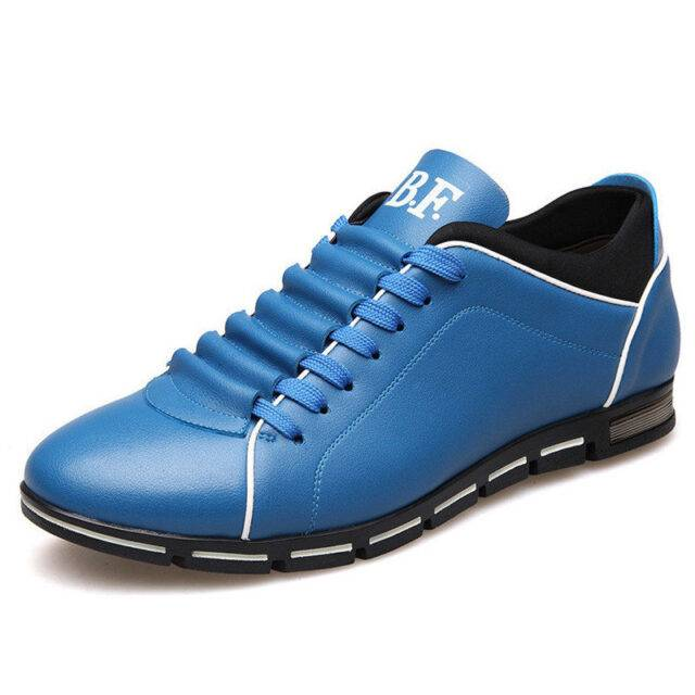 URB Stylish Comfortable Leather Sneakers For Men