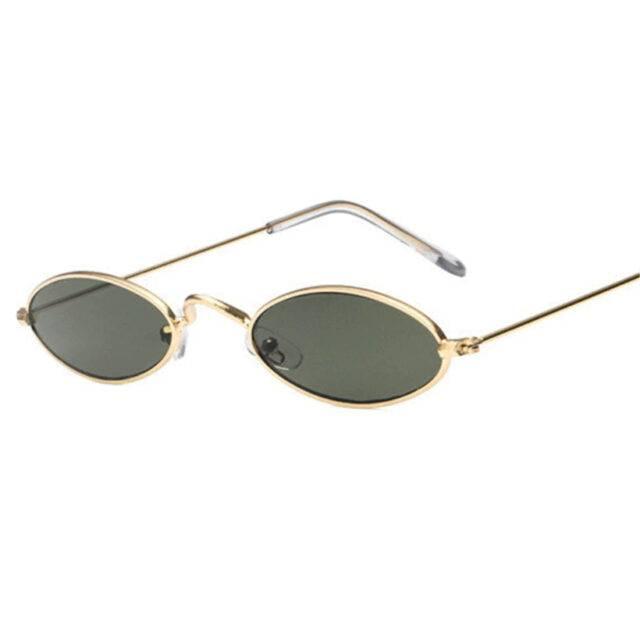 Oval Shaped Lenses Sunglasses for Womens