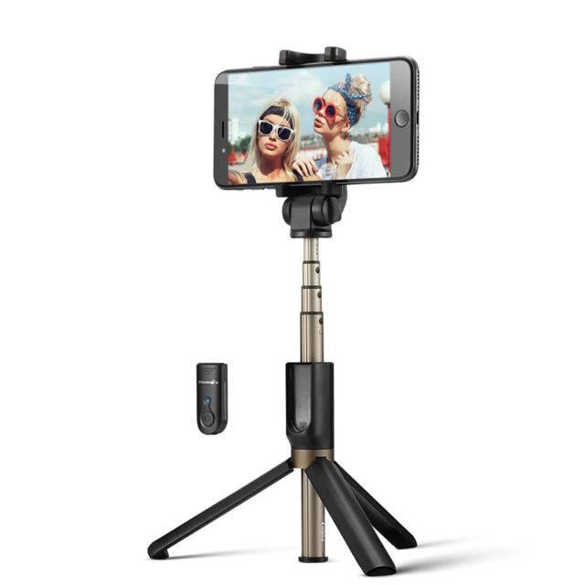 Wireless Bluetooth Selfie Stick