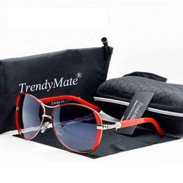 Women's Designer Oval Sunglasses