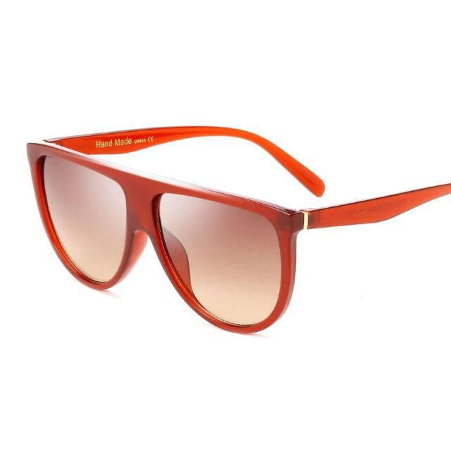 Oversized Square Sunglasses UV400