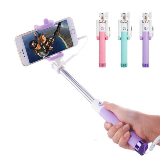 Multi Color Mini Selfie Stick