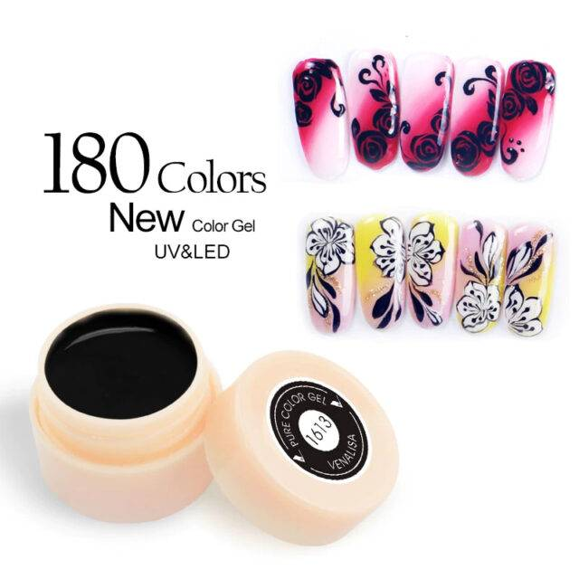 180 Colors Nail Gel