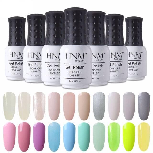 Light Color Gel Nail Polish 8 ml