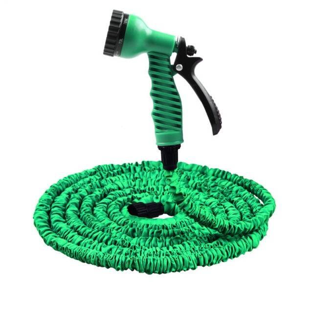Garden Hose Pipe with Water Spray Gun